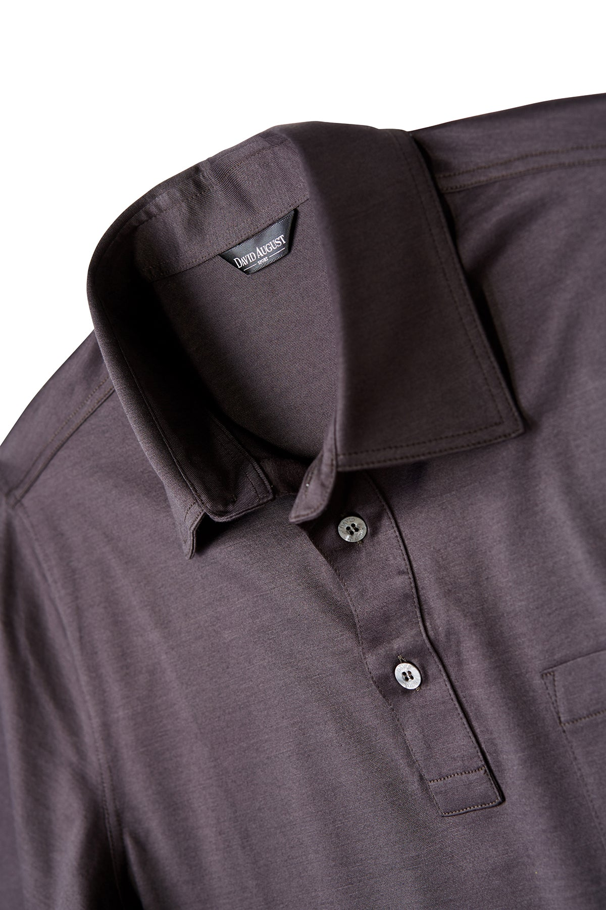 David August Brown Polo