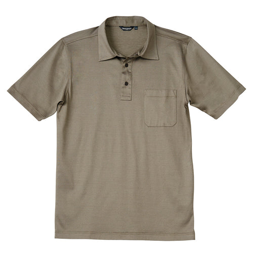 Luxury Mercerized Cotton Polo in Terroir