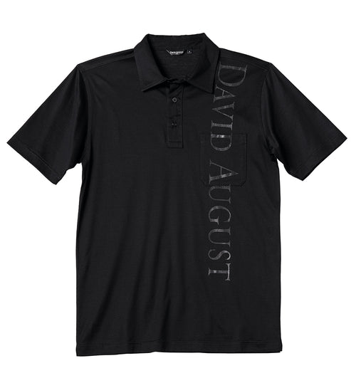 Luxury Mercerized Graphic Cotton Polo