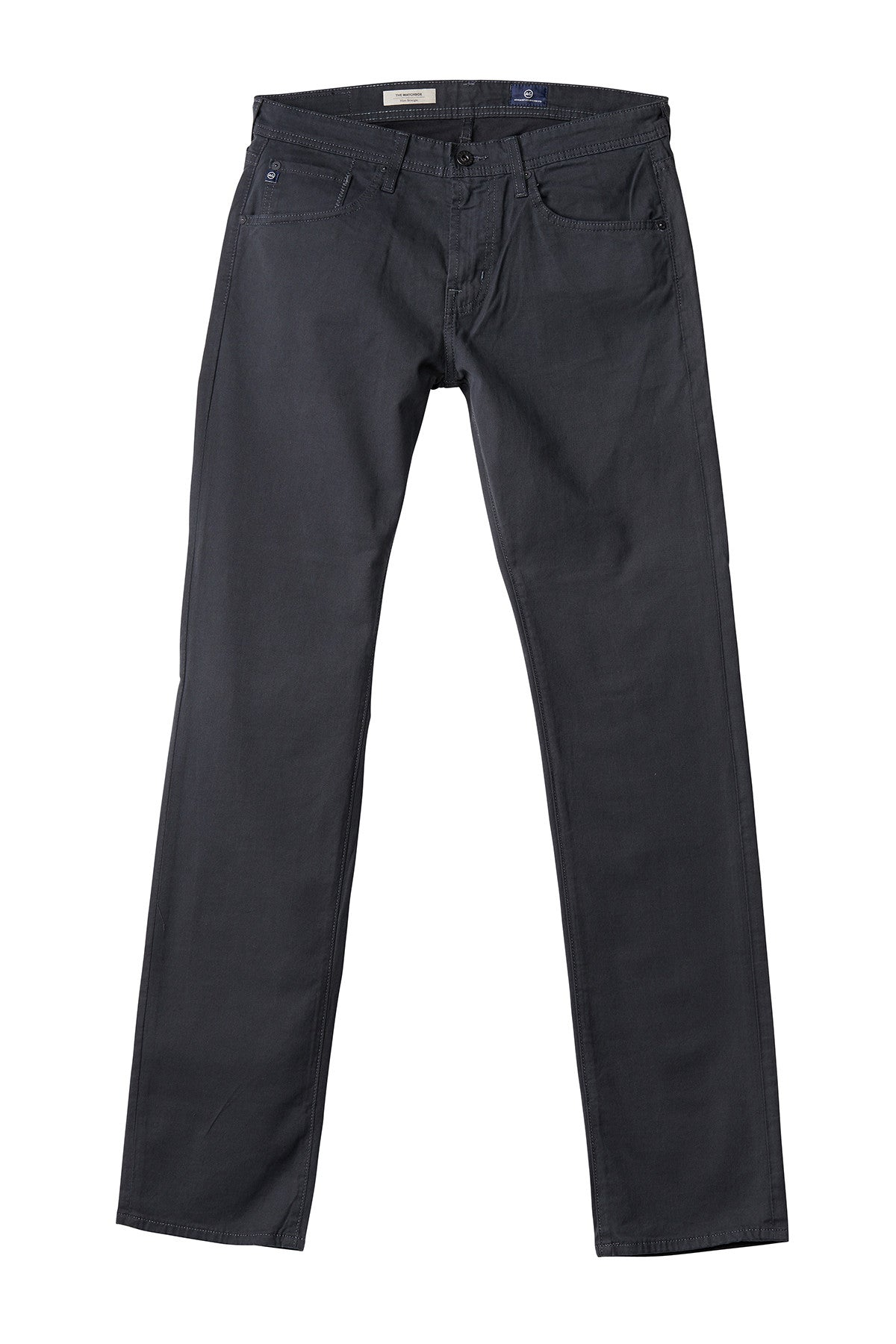 AG 'Matchbox' Slim Fit Twill Pants in Brushed Grey