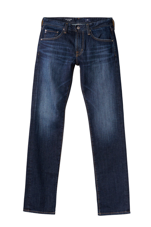 AG  'Matchbox' Slim Fit Distressed Indigo Jeans (Robinson) 34""