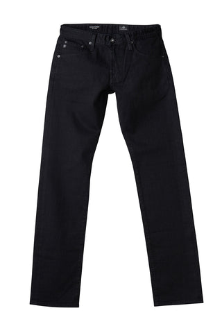 AG 'Tellis' Slim Fit Pants in Sueded Sateen in Dark Grey (Cavern)