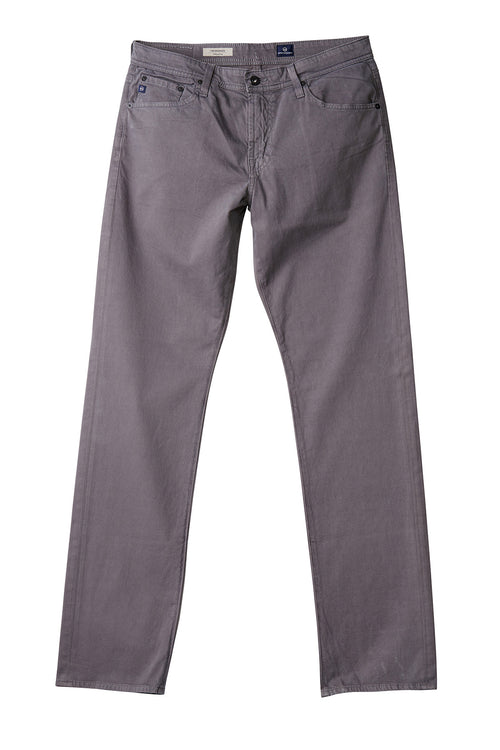 AG 'Graduate' Slim Straight Fit Pants in Sueded Sateen Grey