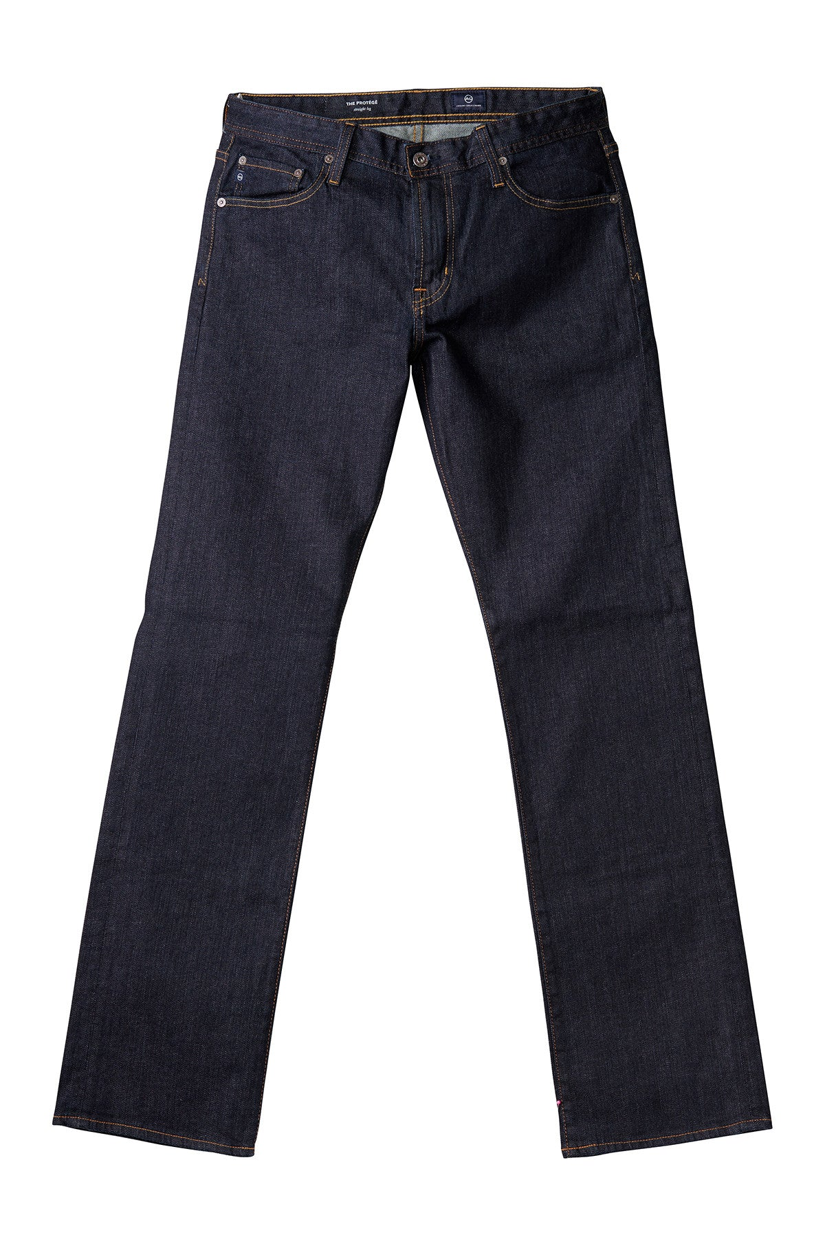 AG 'Protégé' Straight Leg Fit Jeans in Dark Indigo (Jack)