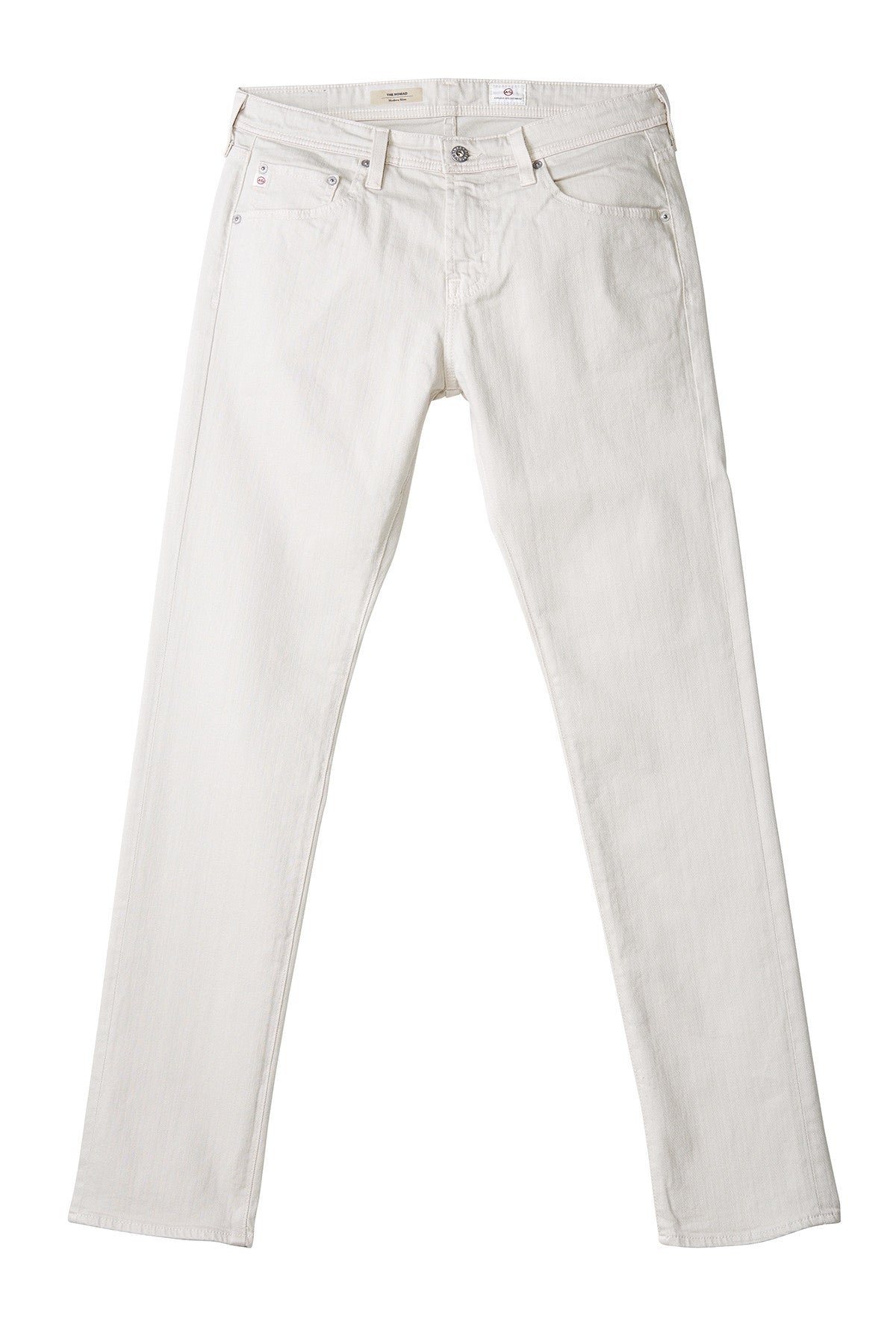 AG 'Nomad' Skinny Fit Jeans in Bleached Sand
