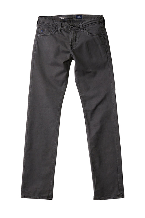AG 'Matchbox' Slim Fit Trousers in Dark Grey (Brushed Sulfur Shark)