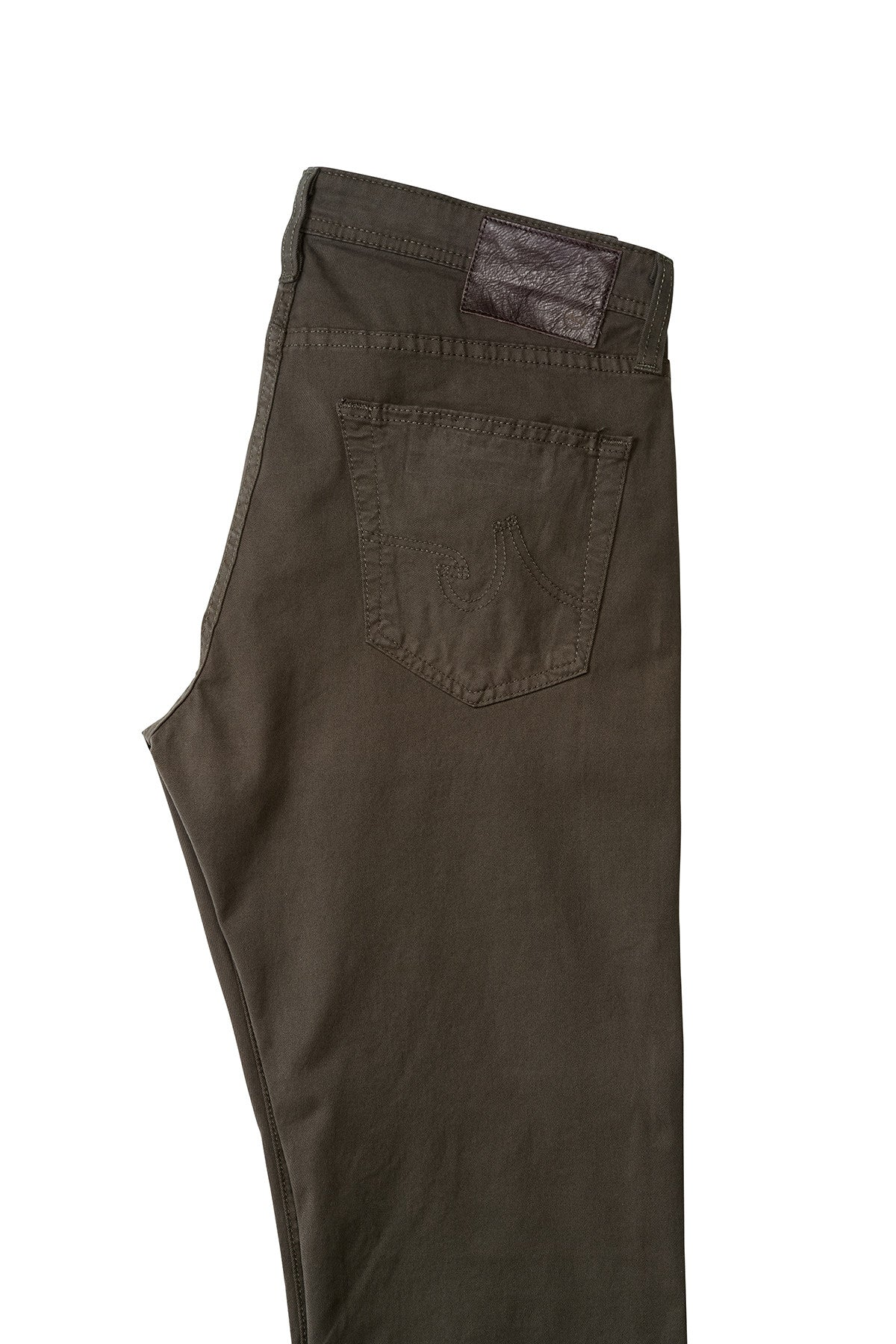AG  'Matchbox' Slim Fit Jeans in Army Green