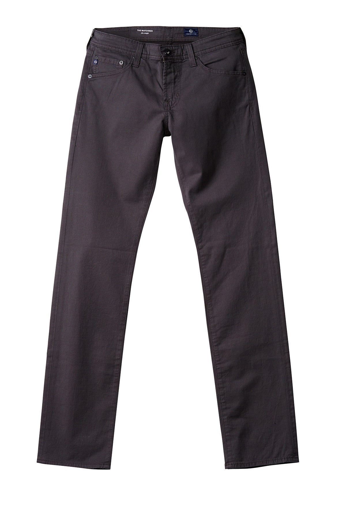 AG 'Matchbox' Slim Fit Pants in Dark Rock