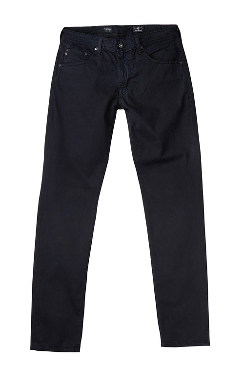 AG 'Tellis' Slim Fit Pants in Sueded Sateen in Black
