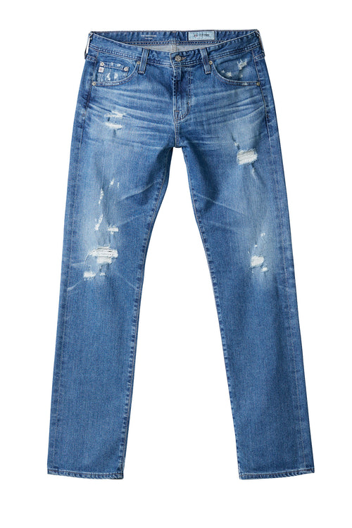 AG 'Matchbox' Slim Fit Distressed Jeans (11 Years Manuscript)