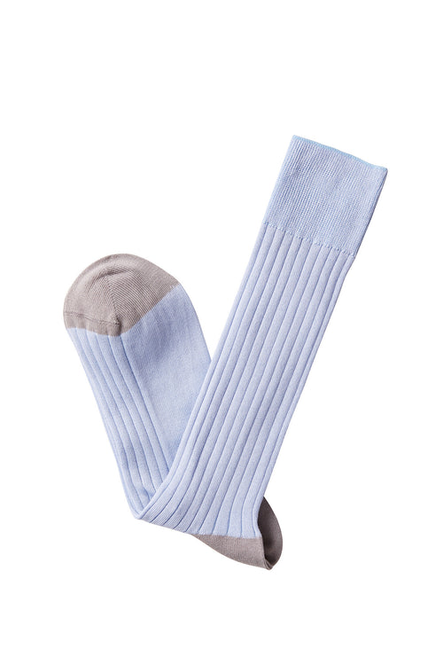 David August Socks - Ice Blue Socks