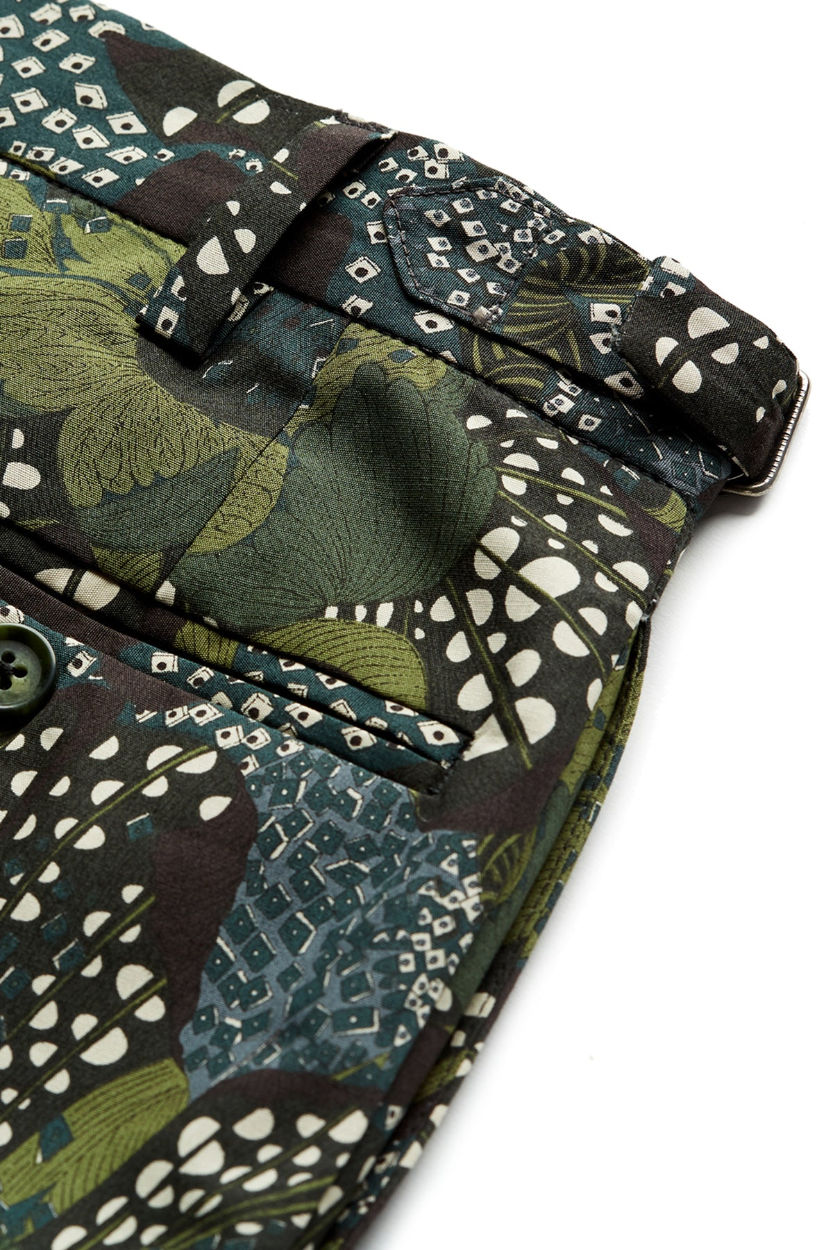 David August Floral Camo Trousers