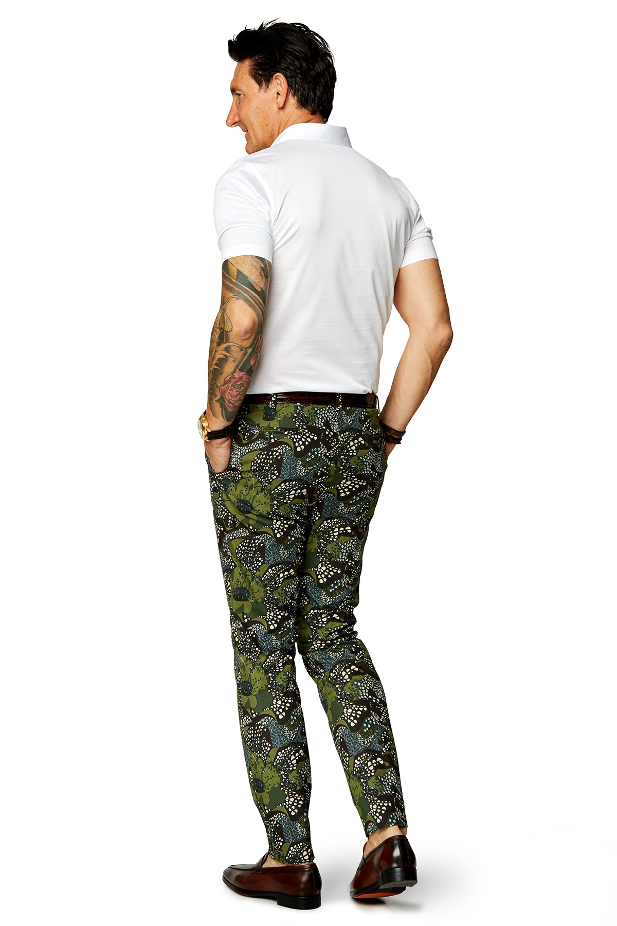 Floral Camo Trousers