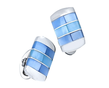 Ombre Mother-of-Pearl Cufflinks