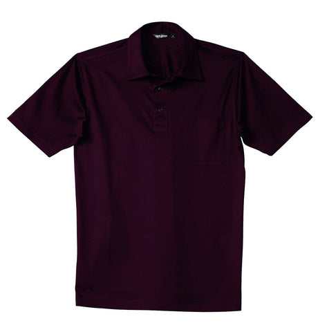 Luxury Mercerized Cotton Polo in Dark Grey