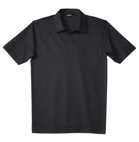 Luxury Mercerized Cotton Polo in White