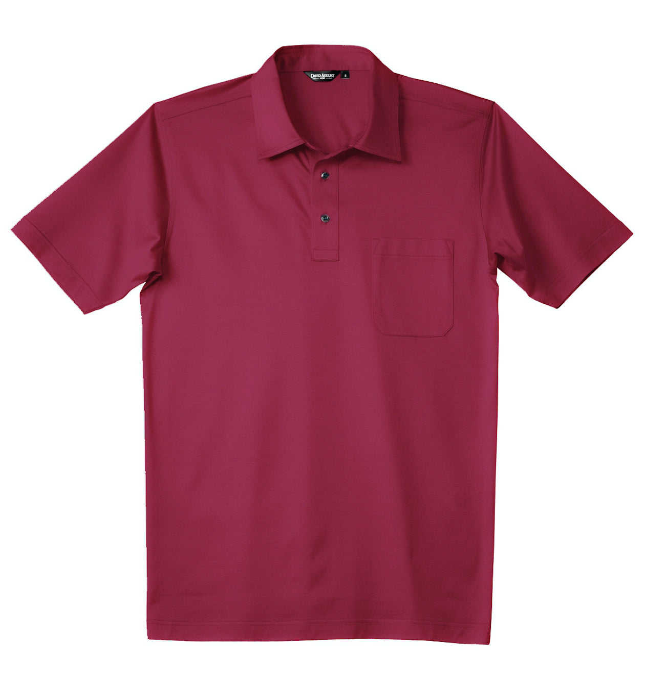 Luxury Mercerized Cotton Polo in Watermelon
