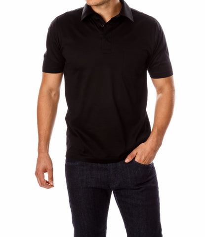Luxury Mercerized Cotton Polo