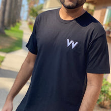 Load image into Gallery viewer, Elevven Embroidered Black Tee