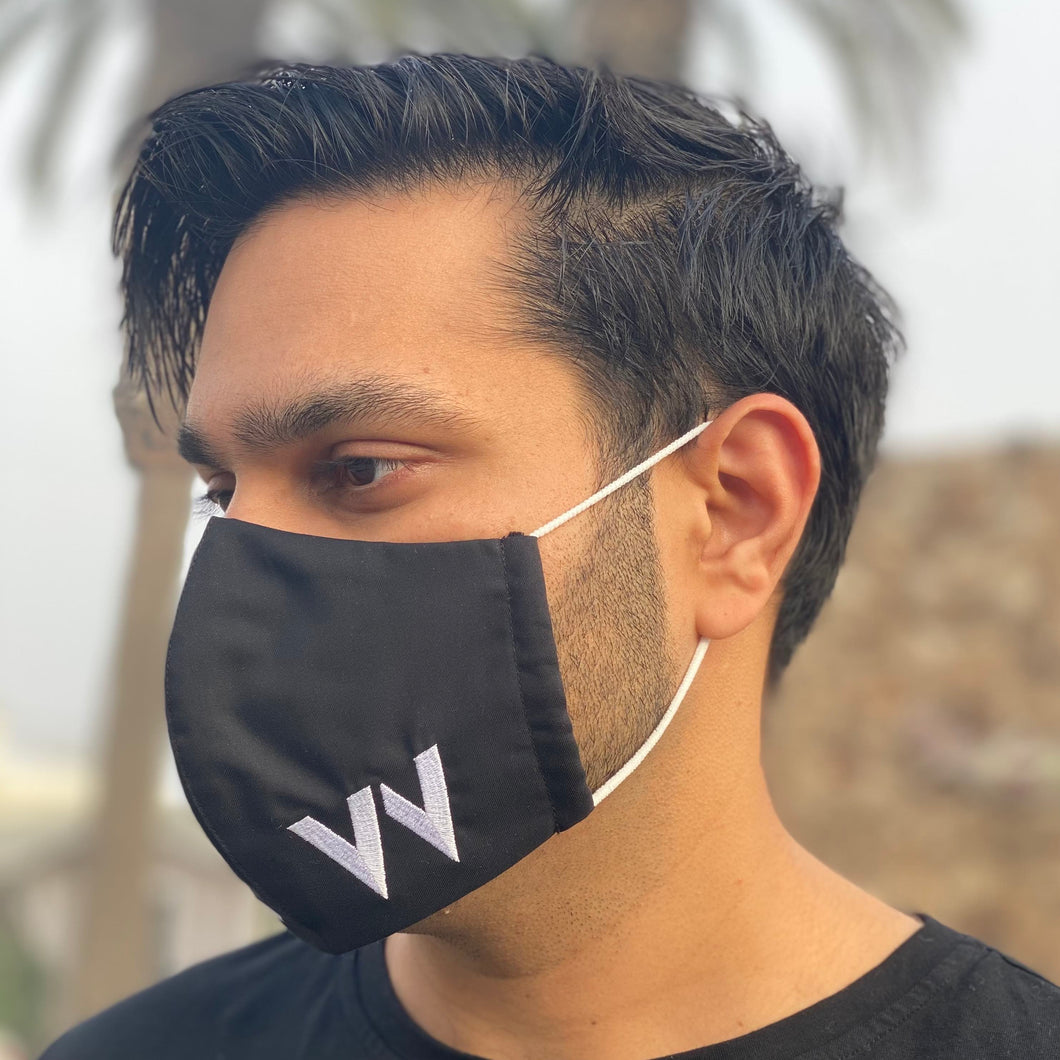 Elevven Embroidered Face Mask