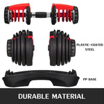 Adjustable Dumbbell Fitness Workouts Dumbbells tone your strength and build your muscles 5-52.5lbs