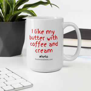 Keto Coffee Butter and Cream Mug