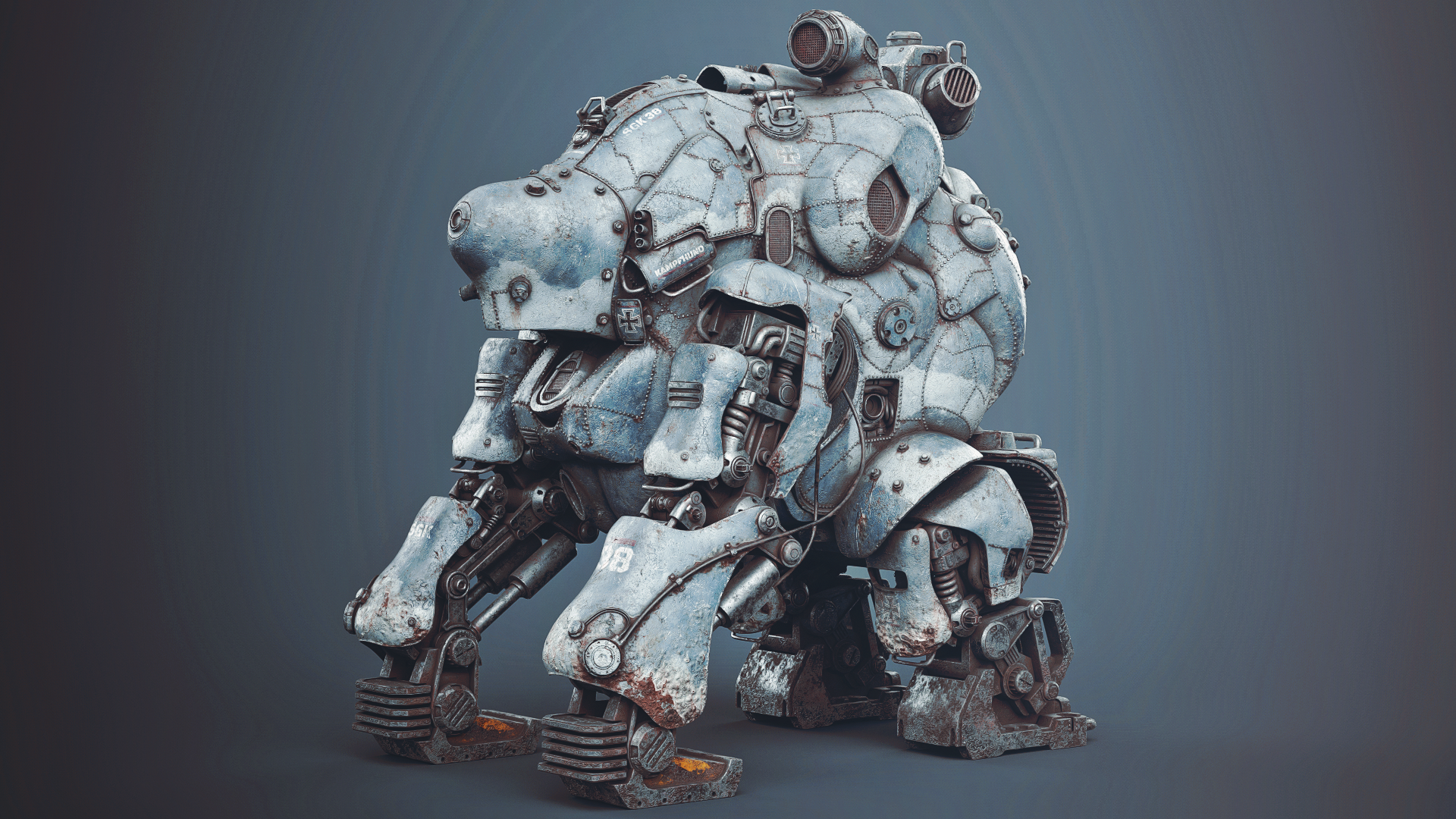Mech created with the help of Pure Tools 3D