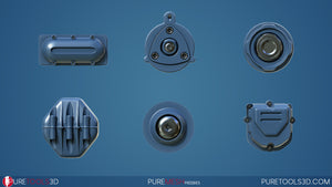 Pure Mesh Freebies 1 Preview 1