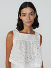 Bingley Square Neck Sleeveless Top