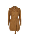 Camel Shirt Dress