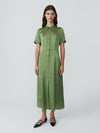 Granny Smith Shirt Dress