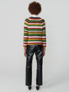 Sid Stripe Crew Neck Jumper