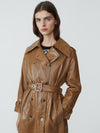 Smith Leather Trench
