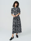 After Hours Flowers Tea Dress