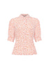 Alice Shroom Pearl Button Blouse