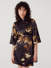 Who By Fire Kimono Wrap Dress