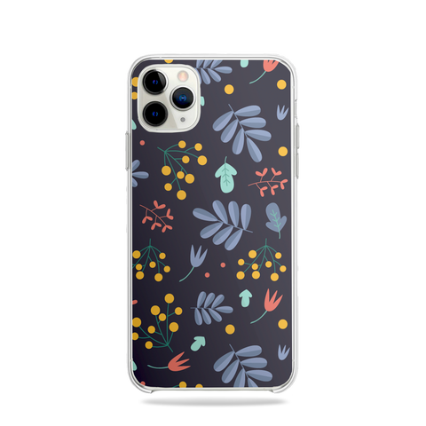 Flowers dark Phone Case