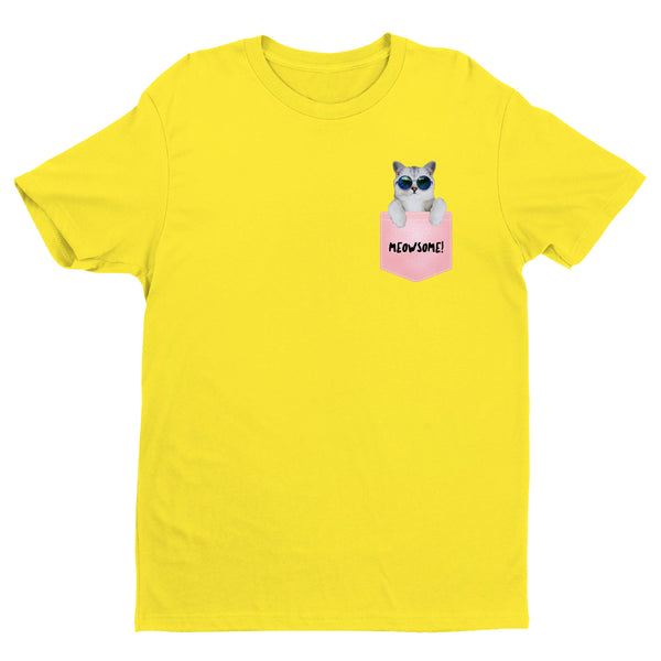Cat Pocket T-Shirt MEOESOME!