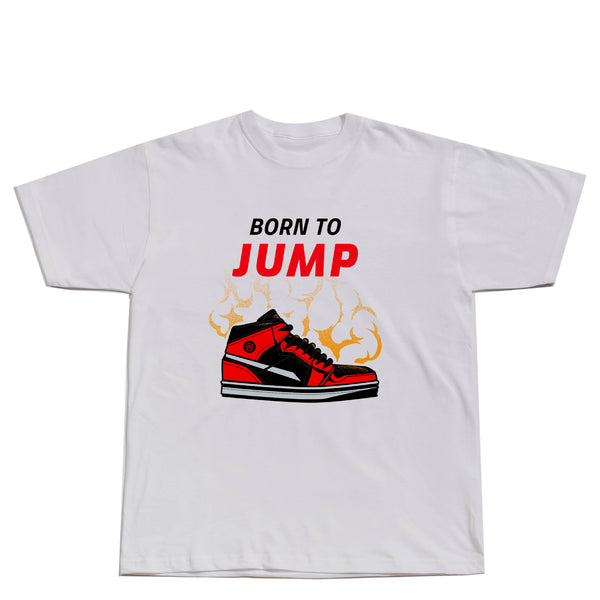BORN TO JUMP JORDAN SHIRT