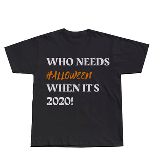 Halloween 2020 - Black T-Shirt