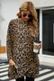 Leopard Print Long Sleeve Casual Top