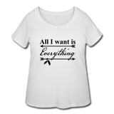Women's Curvy T-Shirt - white