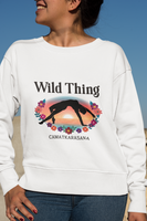 Wild Thing Yoga Pose Women's Premium Sweatshirt
