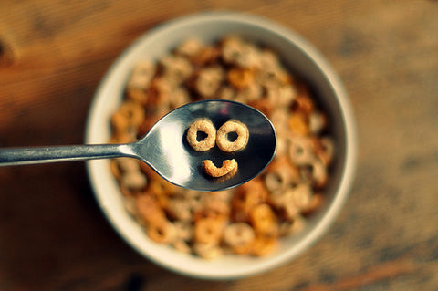 Cereal happy smile