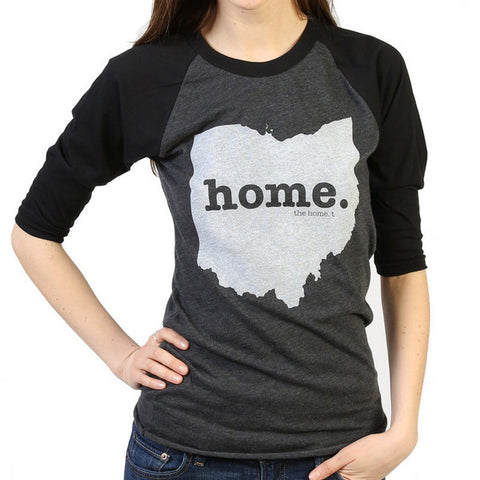 State themed baseball tee shirt