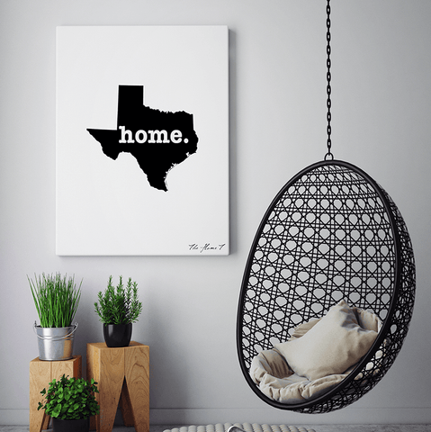 Texas Canvas Wall Print Art