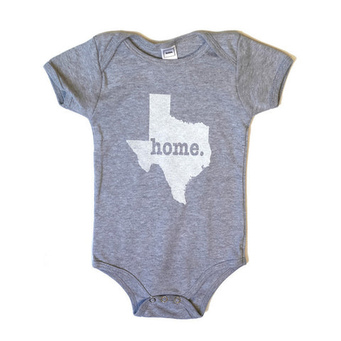Texas State Themes Apparel Onesie