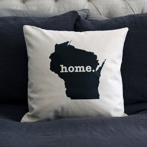 Gifts that give back Wisconsin Pillow