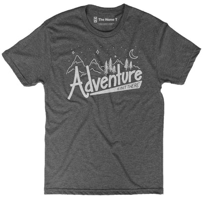 Adventure Is Out There Crew neck The Home T XXL Grey