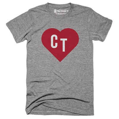 Connecticut Red state Heart